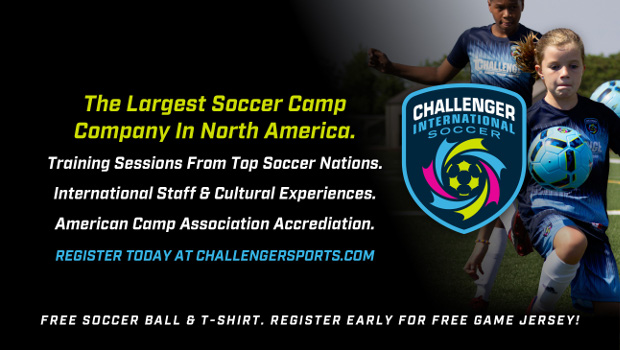 Challenger Sports Soccer Summer Camp