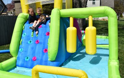 H2OGO!® Splash Course Inflatable Mega Water Tryazon Party